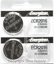 2 pcs 2016 Energizer Watch Batteries CR2016 CR 2016Original Lithium Battery 0%HG