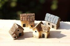 Miniature Fairy Garden Stone Cottage Terrarium Accessory (Usa Fast Shipping)