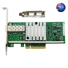 New INTEL X520-DA1 E10G41BTDA 10G 82599ES PCl-E SFP Ethernet Server Adapter AU