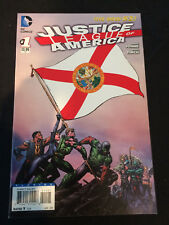 JUSTICE LEAGUE OF AMERICA #1 Florida Flag Variant VFNM Condition