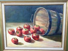 Original Oil Painting on Canvas Board Signed  Italian Artist Georgio De Simone