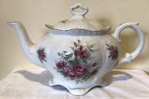 Vintage OLD FOLEY James Kent Staffordshire Tea Pot