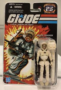 G I JOE, ARCTIC TROOPER, SNOW JOB, 25th Anniversary, Retro, 2007, New, MOSC