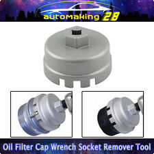 Oil Filter Wrench Cap Housing Tool Remover 14 Flutes 64.5mm Universal For TOYOTA
