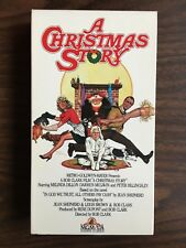A CHRISTMAS STORY VHS USED LIKE NEW SLIPCASE VERSION BOB CLARK JEAN SHEPHERD