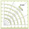 Multifunctional Acrylic Arcs&Fans Quilt Paper Fabric Circle DIY Cutter Ruler