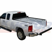 JDMSPEED Roll Up Tonneau Cover 6.5 FT For Chevy Silverado GMC Sierra 2007-2013