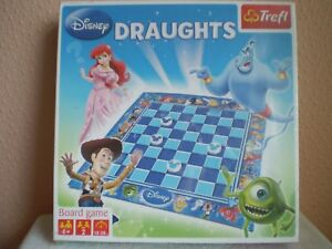 Trefl Board Game : Disney Draughts : Mickey Mouse : New and Sealed : Poland