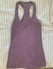 Women's Lululemon Tank Top - Size 2 - Light Purple Racerback