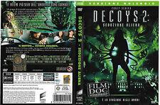 DECOYS 2: SEDUZIONE ALIENA (2007) dvd ex noleggio