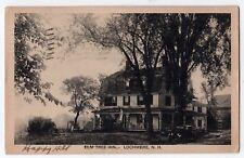1938 LOCHMERE NEW HAMPSHIRE PC Postcard ELM TREE INN Tilton Belmont LACONIA NH