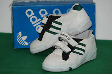 DEADSTOCK ADIDAS VINTAGE TENNIS TRAINERS SNEAKERS CASUALS 80 90 UK13,2 SPORTHOSE