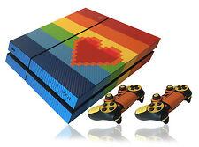 Con Textura Carbono Orgullo Gay Estilo Sony Playstation 4 Ps4 Skin Sticker Decal Wrap