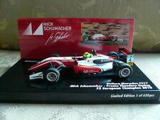 Dallara Mercedes F317, Minichamps 517184304, Mick Schumacher, F3 Champ 2018,1:43
