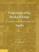 Fragments of the Books of Kings According to the Translation of Aquila (Paperbac