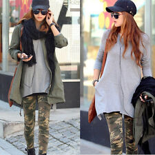 Cool Sexy Ladies women's Camouflage Army Stretch Leggings Pants Cotton Trousers