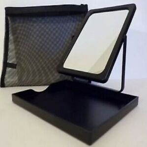 Mary Kay Foldable Stand Up Travel Makeup Mirror and Tote for Mirror