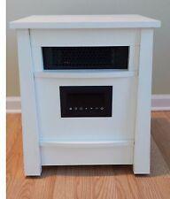 LifeSmart Life Pro LP-8W-IQH-MW Infrared 8 Element Room Heater White Ionizer