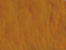 Orange Marigold Plain Faux Fur Fabric Short Hair 150cm Wide SOLD BY THE METRE