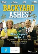 Backyard Ashes (DVD) Comedy Backyard Cricket [All Regions] NEW/SEALED