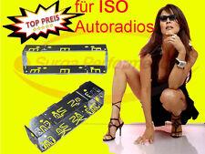 Enmarcar autoradio universal ISO de chapa de metal marco marco DIN