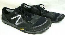 New Balance Minimus Mens Size 10 EE Black Vibram Lightweight Trail Running Shoes