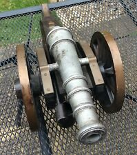 Antique Style Table  Top Model of an Old Cannon Gun - Bucket and Packer