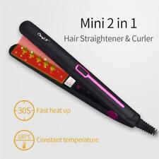 Hair Straightener Flat Iron Portable Mini Professional Curler Styling Tools
