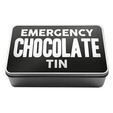 Emergency Chocolate Tin Metal Storage Tin Box A025 Novelty Gift Idea Kitchen