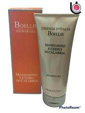"""Boellis """" Mandarine Et Cèdre de Calabre """" Gel Douche Ml. 200"""