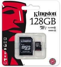 SD MicroSD Card 128GB Classe 10 128 GB Kingston Scheda memory Card per cellulare