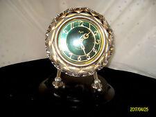 Маяк / Majak USSR Crystal Mantle / Desk Clock 11 Jewels Vintage Retro GSP