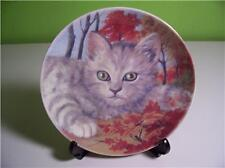 BAUM BROTHERS COLLECTOR PLATE - FOREST CAT