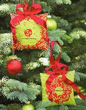 Mini Dresden Ornament Quilt Pattern Pieced/English Paper Pieced CM
