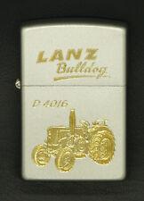 ZIPPO Feuerzeug mit Gravur, Traktor / Schlepper - Lanz Bulldog D4016 ......Z1718