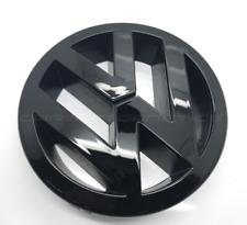 Gloss Black VW Golf MK5 Front Grill Bonnet Badge Emblem GT SDI FSI TDI