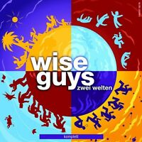 WISE GUYS - ZWEI WELTEN KOMPLETT 2 CD DEUTSCH POP NEU