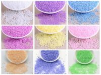 5000pcs Ceylon Pearl Glass Seed Beads 2mm (10/0) + Storage Box Colour Choice