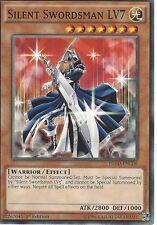 YU-GI-OH: SILENT SWORDSMAN LV7 - YGLD-ENC06- 1st EDITION
