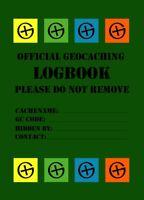10 x DIN A7 Logbuch Englisch Logsheet Geocaching Logbook Cache can