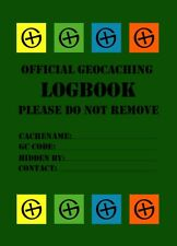 10 x Geocaching Logbooks - 40 Seiten - for Bottles - Logbook Container Hiding