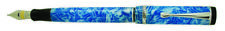 Conklin Duragraph Fountain Pen - 4 Styles Choice of Sizes Ice Blue Medium