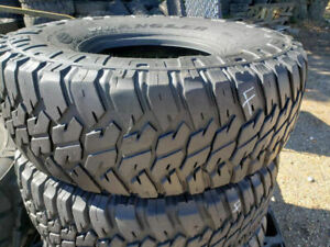 4 Goodyear Wrangler MTR 37x12.50R16.5 Military Humvee Mud Truck Tires 70% tread