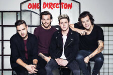 ONE DIRECTION / 1D - MUSIC POSTER (LIAM, NIALL, HARRY & LOUIS ON STOOLS)