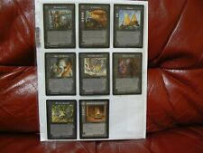 Middle Earth CCG: 8 Rare Event/Site Cards - Lidless Eye MECCG LOTR - Near Mint