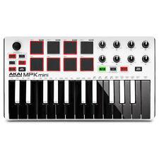 Akai MPK Mini Mk2 USB Midi Controller - Weiss