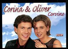 Corina e Oliver Corvino AUTOGRAFO MAPPA ORIGINALE FIRMATO # BC 43781