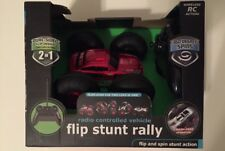 "Radio Controlled Flip Car, Stunt Rally , 2 Cars in 1, Flip & Spin Action ""NEW"""