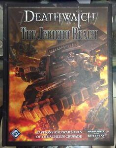 Fantasy Flight Warhammer 40K RPG Deathwatch Jericho Reach  Brand New MSRP $49.99