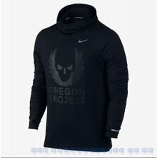 Nike Oregon Project Energy Element Pullover Hoodie 810389-010 Size Large Men's